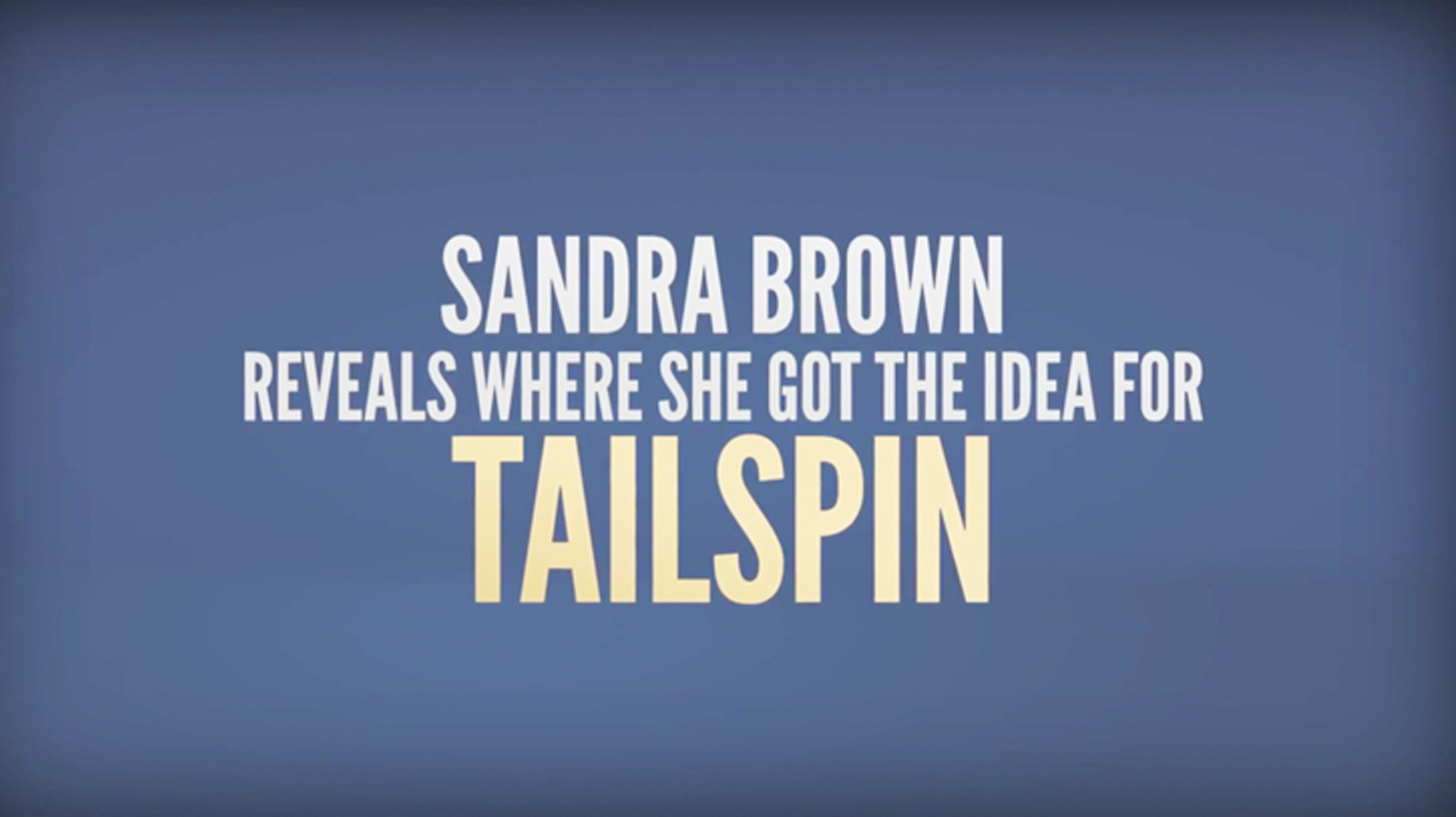 Behind The Book: Tailspin